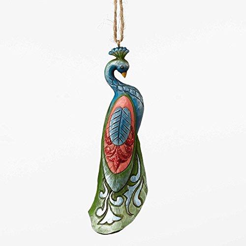 Jim Shore Heartwood Creek, Wonderland Peacock Ornament