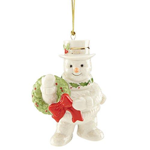 Lenox 2016 Happy Holly Days Snowman Ornament