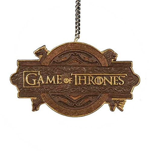 Game of Thrones Logo Christmas Tree Ornament Holiday Decoration