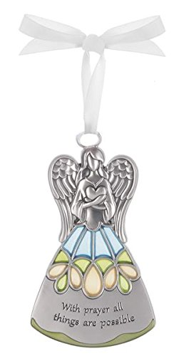 With Prayer All Things Are Possible – Guardian Angel Ornament by Ganz