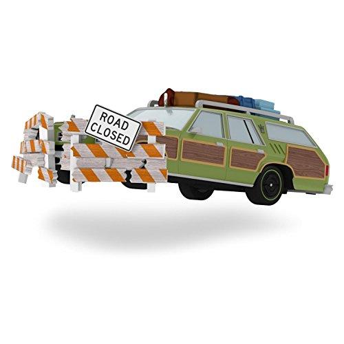 """Hallmark Keepsake Ornament – NL Vacation – Truckster """"Road Closed'"""