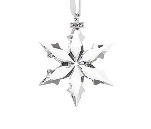 Swarovski Element Annual Edition 2015 Crystal Star Ornament,The product with original Package box