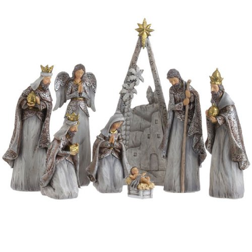 RAZ Imports – 12.5″ Nativity Scene Display Pieces
