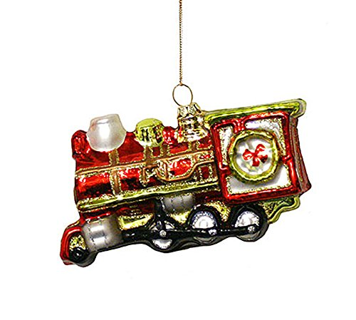 Large Locomotive Christmas Ornament Train Engine