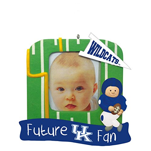 Kentucky Wildcats Official NCAA 5 inch x 5 inch Future Fan Photo Frame Christmas Ornament by Evergreen 167331