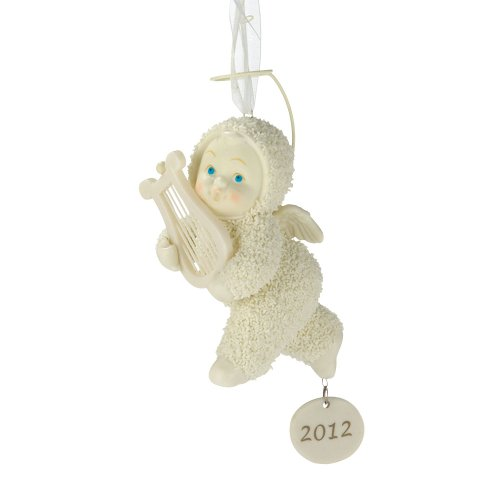 Department 56 Snowbabies by Kristi Jensen Pierro Heavenly Music Ornament, 3.94-Inch