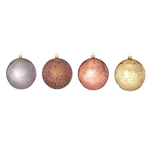 Sage & Co. XAO18810MU Shatterproof Ball Ornament (24 Pack)