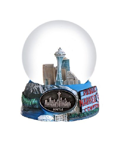 Seattle Washington Snow Globe – 65mm