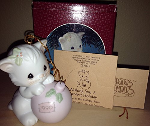Precious Moments – Wishing You A Purr-fect Holiday Ornament