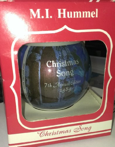 M.I. Hummel 1989 Glass Ornament, Christmas Song (ARS Edition)
