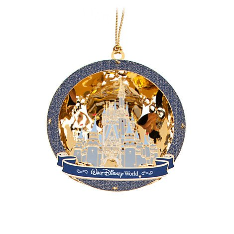 Exclusive Walt Disney World Cinderella Castle Ornament by Baldwin