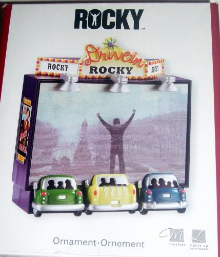 Rocky Sylvester Stallone 2007 Musical Carlton Cards Christmas Ornament