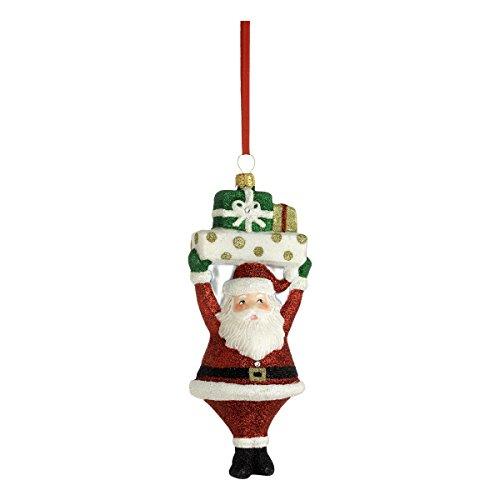 Reed & Barton C4420 Jolly Santa Ornament