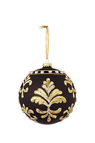 Sage & Co. XAO16769BK 4.5 Jeweled Ball Ornament Assortment by Sage & Co.