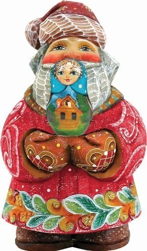 G. Debrekht 4 Inch Santa Matreshka, Gift Expressions Santa