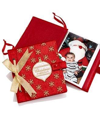 Holiday Lane Christmas 2015 Dated Keepsake Book Ornament