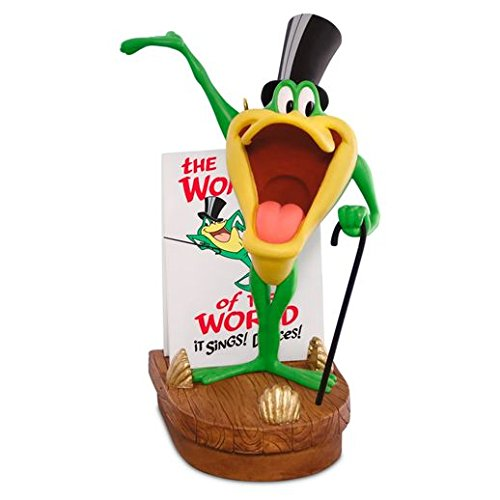 Hallmark 2016 Christmas Ornament LOONEY TUNES HELLO! MA BABY MICHIGAN J. FROG Musical Ornament
