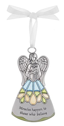 Miracles Happen To Those Who Believe – Guardian Angel Ornament by Ganz