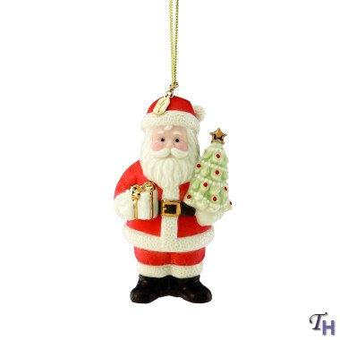 Lenox Santa's Visit Christmas Ornament