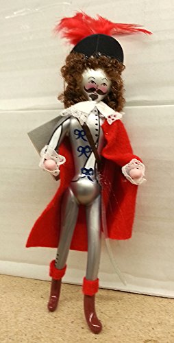 De Carlini D'artagnan Italian Mouthblown Glass Christmas Ornament
