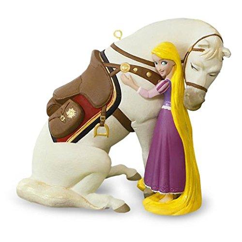 Hallmark 2016 Christmas Ornament A Girl's Best Friend Disney Rapunzel With Maximus Ornament