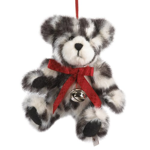 Boyds Plush 6 Ho Animal Print Bear Ornament
