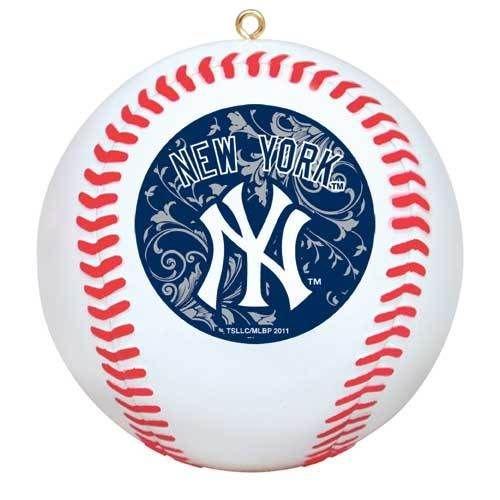 New York Yankees Ornament MLB Replica NY Baseball Christmas Holiday Decoration