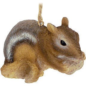 MIDWEST CBK Chipmunk Christmas Ornament