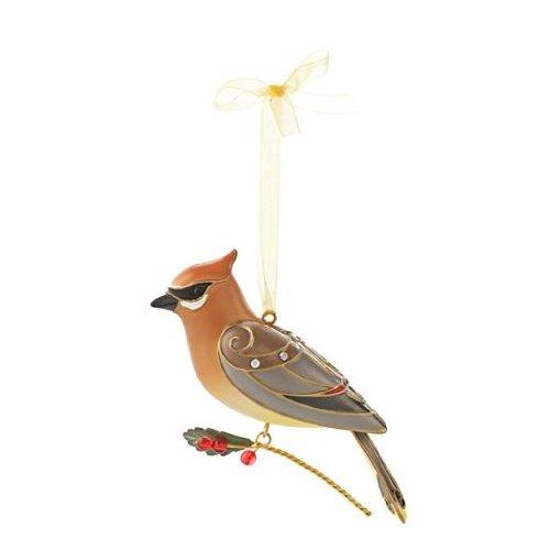 Cedar Waxwing Beauty of Birds #9 Series 2013 Hallmark Ornament