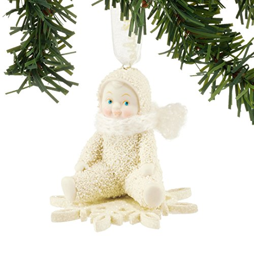 Snowbabies Celebrations Drifting On A Snowflake Christmas Ornament 4051923 New
