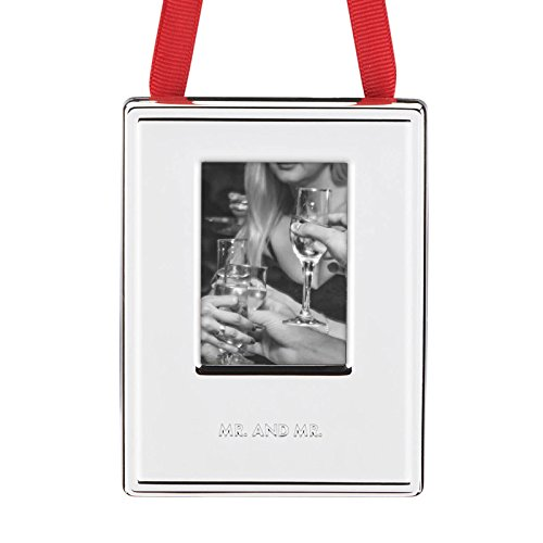 Kate Spade 2016 Darling Point Picture Frame, Mr. & Mr.
