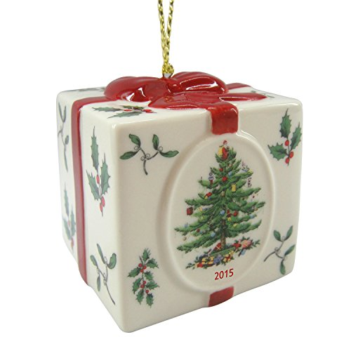 Spode Christmas Tree Ornament, Annual 2016 Edition, Holiday Gift Box