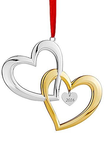 Nambe 2016 Our First Christmas Together Ornament