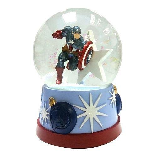 "The Avengers Captain America Musical Snowglobe – Plays ""Jingle Bells"""