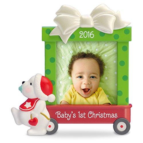 Baby's First Christmas Christmas Ornament Beary Cute Dated 2016 Hallmark Keepsake Ornament