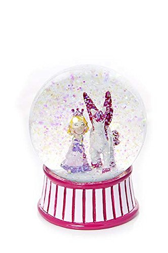 Pink Princess& Unicorn Gift Snow Globe Water Globe for Girls