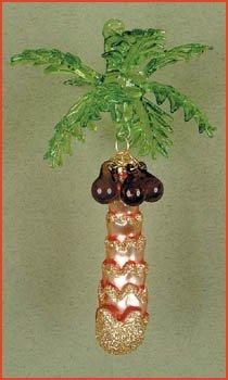 Cobane Studio LLC COBANEE317 Palm Tree Ornament