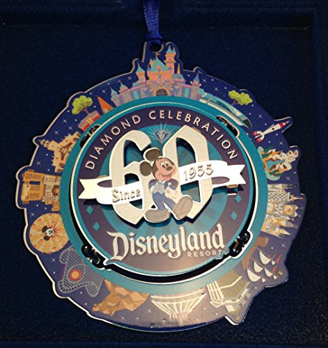 Disneyland Mickey 60th Diamond Celebration Ornament