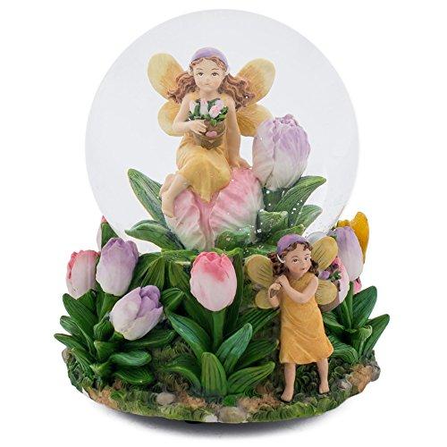 Pixie Dust Fairies 100MM Music Water Globe Plays Tune Twinkle Twinkle Little Star
