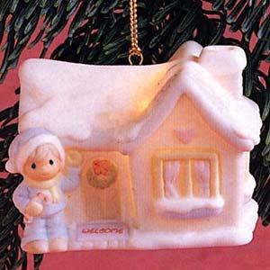 Sam's House Sugar Town Ornament Precious Moments #530468