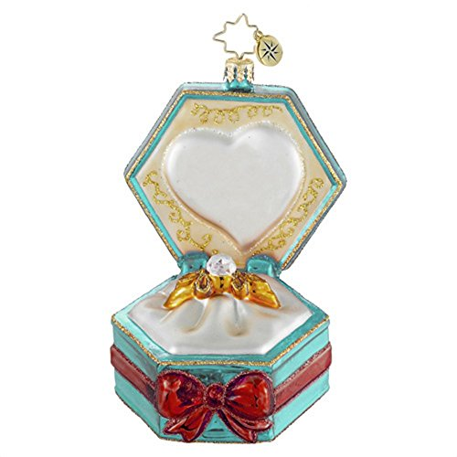 Christopher Radko Happily Ever After Glass Christmas Ornament – Available for Personalization