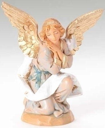 Fontanini Angel / kneeling angel