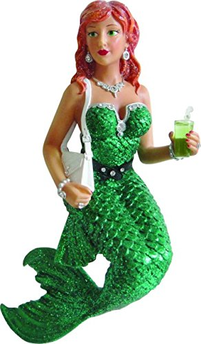Mermaid December Diamonds Soda Christmas ornament retiring