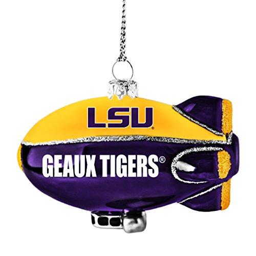 NCAA LSU Tigers Glitter Blimp Ornament