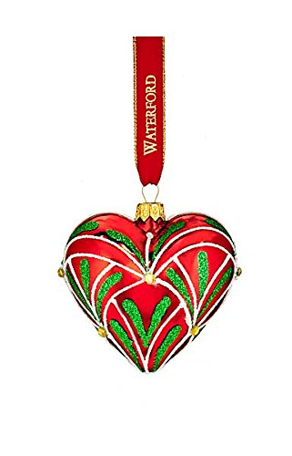 Waterford 2016 Holiday Heirloom Nostalgic Collection Christmas Eve Heart Ornament