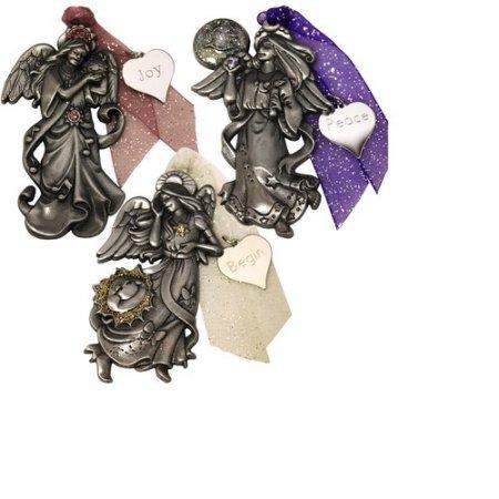 Personalized Gloria Duchin 6pc Angel Ornament Set 10.12 x 7.50 x 4.50 Inches