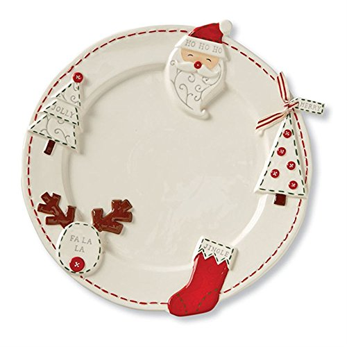 Mud Pie Christmas Ornament Platter