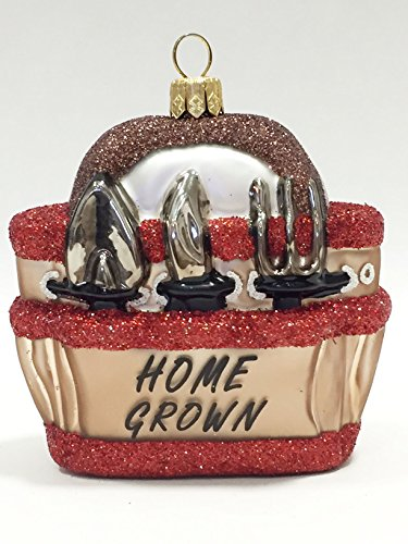 Ornaments to Remember: GARDEN TOTE Christmas Ornament (Home Grown)