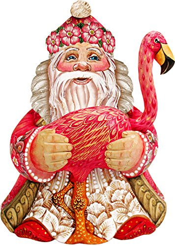 G. Debrekht Santa in Paradise Deco Ornament
