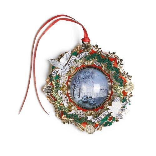 2013 White House Christmas Ornament, The American Elm Tree